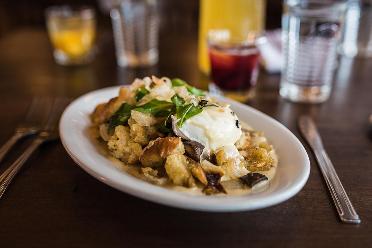 Brunch dish offered at Marcella's Denver